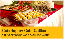 Catering by Cafe Galilee